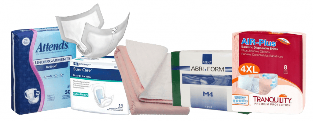 attends, covidien, abeena, tranquility incontinence products in lineup