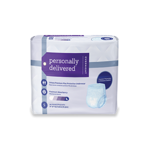 personally delivered nighttime protective underwear for Bedwetting and Nocturia