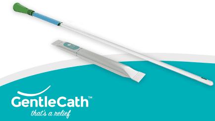 GentleCath Glide catheter
