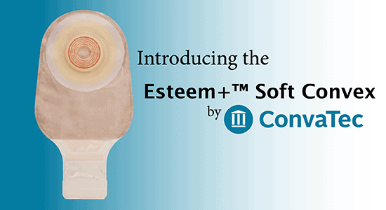 The Esteem+ Soft Convex by ConvaTec
