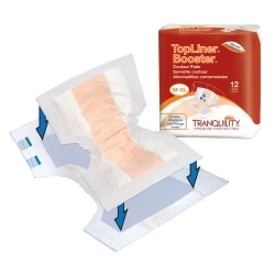 Tranquility TopLiner incontinence booster pad