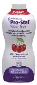 Pro-Stat Sugar-free Wild Cherry Punch nutritional supplement