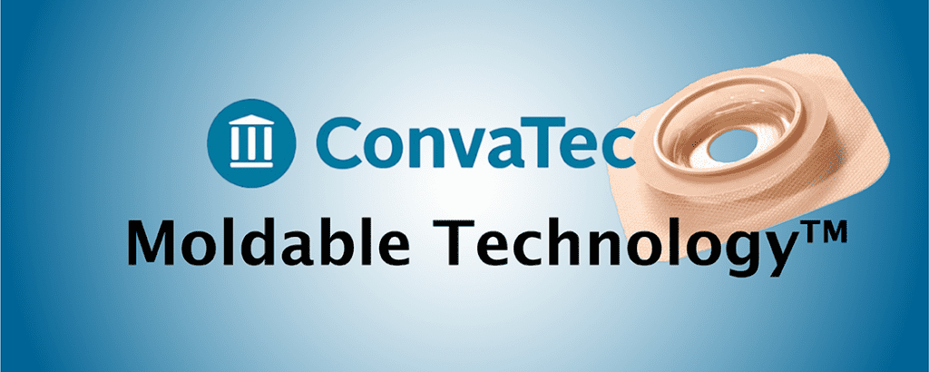ConvaTec's Moldable Technology for skin barriers and ostomy pouches