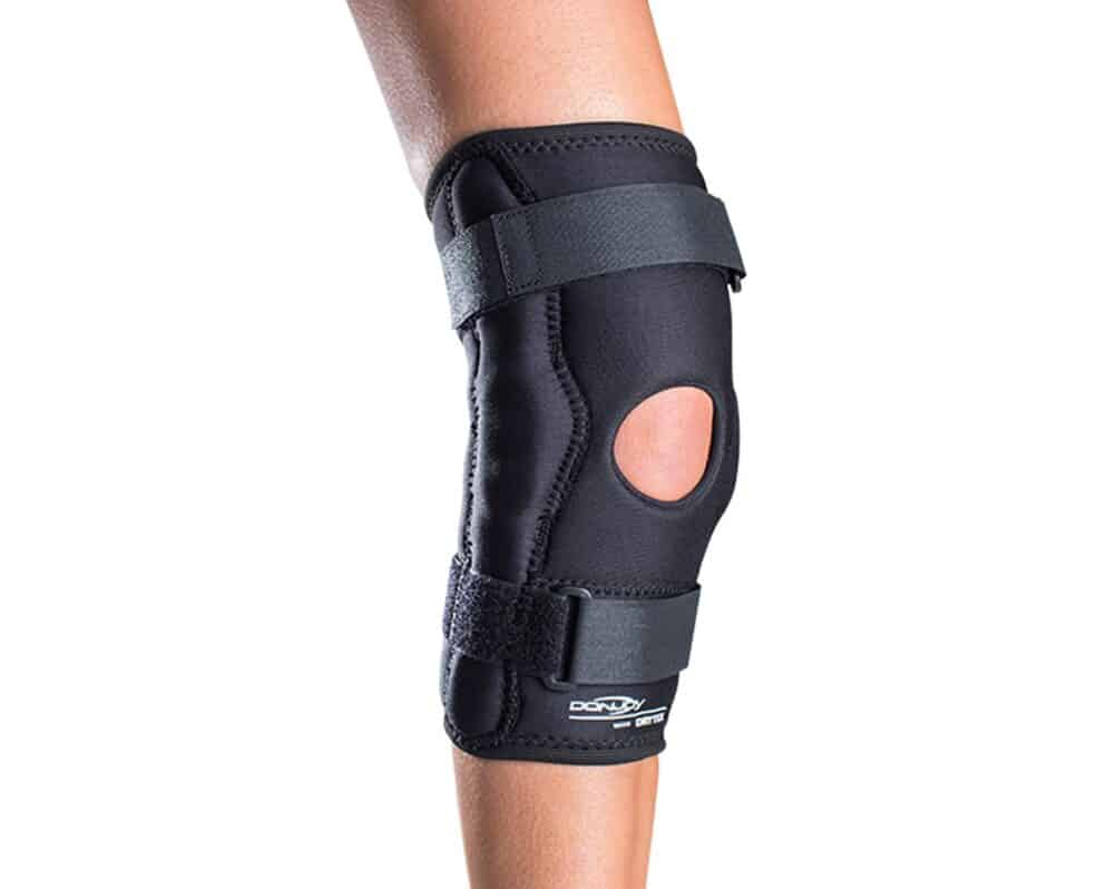 DJO Advantage Sport Stabilized Hinged Orthopedic Knee Wrap