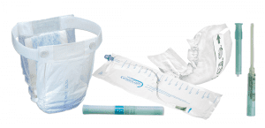 urinary incontinence product collage