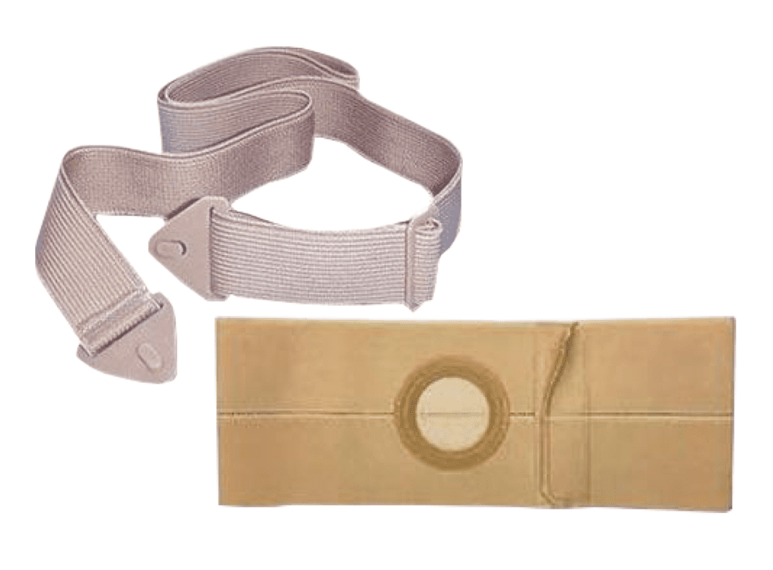 An image of a coupe of different styles of ostomy belts