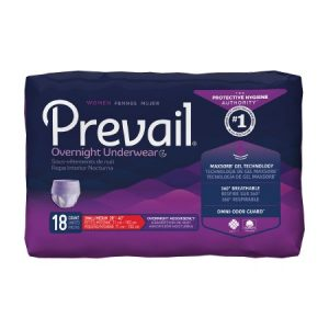Item #PWX512B Prevail Womens Overnight Underwear