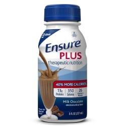 ensure plus chocolate flavor nutritional shake