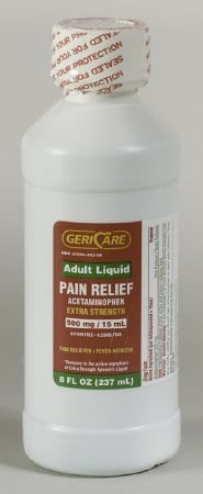 GeriCare liquid pain relief