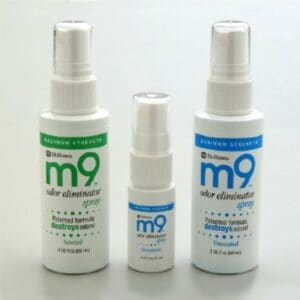 M9 Odor Eliminator Apple Scented Spray