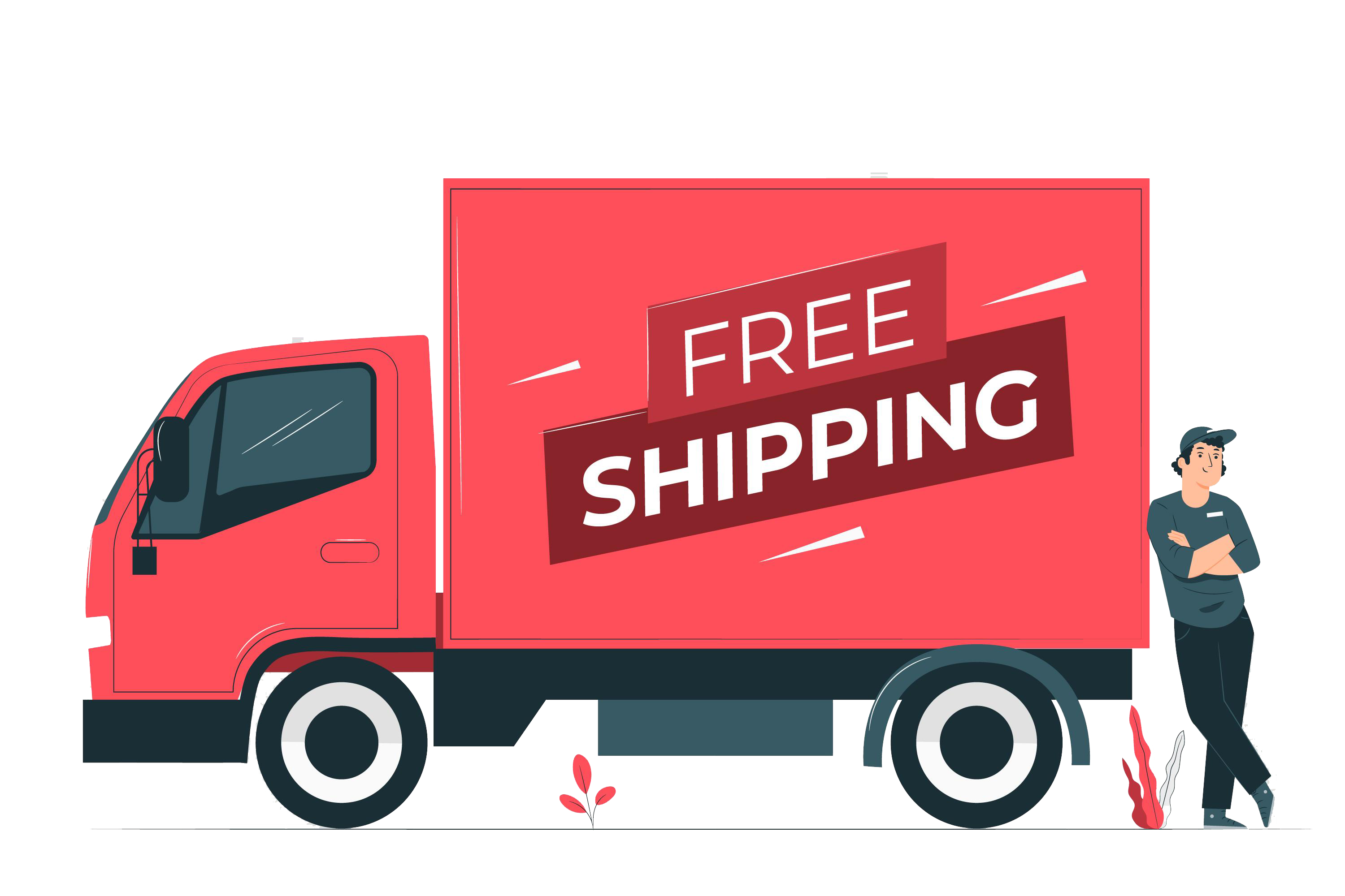 free shipping $40 or more