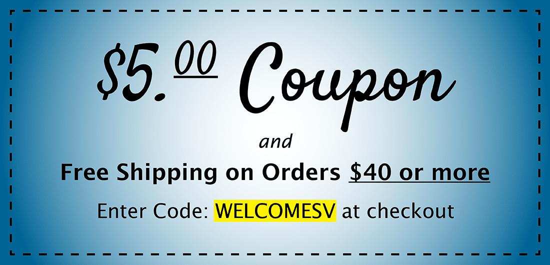 five dollar coupon