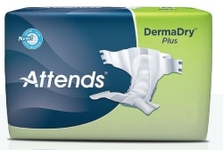 Shop for Attends DermaDry Plus Briefs