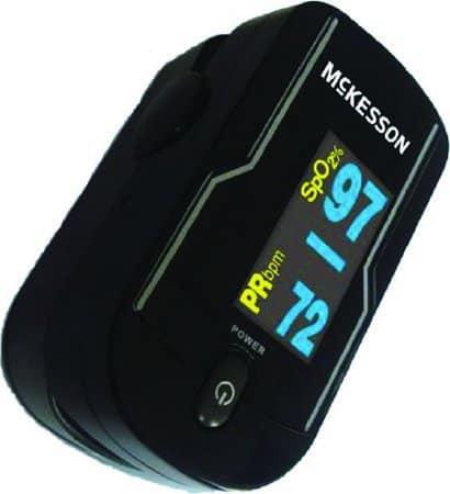 McKesson Handheld Fingertip Pulse Oximeter